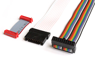RIBBON CABLE AND FLAT CABLE